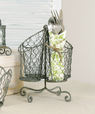 Kichen Utensil Holder Chicken Wire